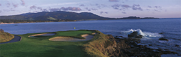 Pebble Beach 7th by Drickey